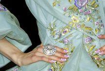 Rococo Style Marie Antoinette /  Romantic Grandeur of Rococo- Style Dress Women  / by Royal Rococo