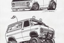Chevy van van