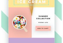 Summer Email Design / Sizzling summer emails that are all about fun in the sun: https://emaildesign.beefree.io/2017/07/summer-emails-heating-up-design/