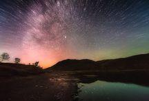 Skies and galaxies