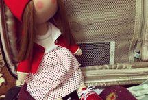 Интерьерная кукла / Ручная работа