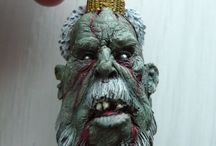 My Finished Projects: Zombie Christmas (Scibor Miniatures)