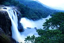 Waterfalls in Kerala / Western ghats consits of small and large streams that merge together to form luscious waterfalls in Kerala