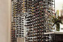 perete vinoteca din fier