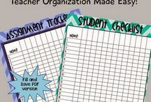 Teaching - Organization / Organization Ideas , Resources & Activities