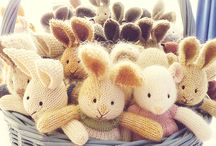 Knitted Toys for Family Daycare