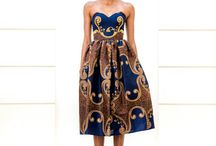 african prints-ess / dresses and skirts