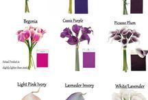 DIY Calla lily flowers