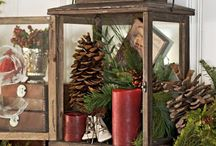 Holiday Mantels / Need inspiration for your holiday mantles?  Christmas Mantle decor and photos abound here!