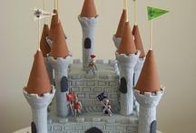 középkori torták: várak, sárkányok, lovagok