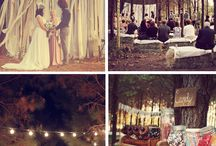 Wedding ideas / Ideas for weddings in the woods / by Jessica Tedeschi