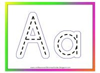 Alphabet Activities - Letters of the Alphabet / Alphabet learning activities include interactive printable coloring pages.  http://www.apples4theteacher.com/coloring-pages/interactive-alphabet/ / by Apples4theTeacher.com