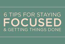 Productivity & Motivation