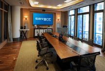Savant NYC Showroom / The Savant Experience Center showcases advanced smart home technologies seamlessly controlled by Apple®-based control automation platform.