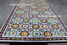Tile / I want a tiled dining table for my great room!