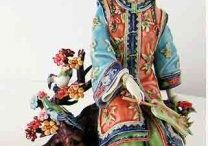 Deanna's Shiwan Porcelain Chinese Ladies