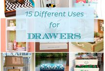 Different Uses for Drawers