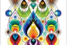 Fascinerende farver / by Anne-Lise Lintner