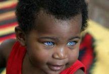 crianças negras olhos