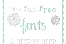 free downloads/printables / by Johanne Trudel