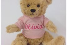 Personalised Traditional Teddy Bears.