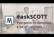 #askScott / Have a question for Scott McGillivray? Tweet or leave a comment using the hashtag #askSCOTT and he might answer your question in an upcoming video! / by Scott McGillivray