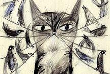 cat / by Colleen Davis