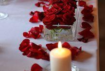 ślub na czerwono