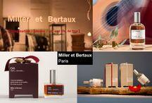 """Miller et Bertaux Profumi / Miller et Bertaux """"fragranze per il corpo e l'anima dedicate a coloro che scelgono l'equilibrio tra l'essere e l'apparire"""""""