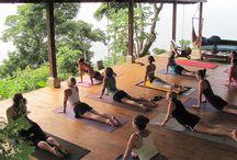 Mi estudio de yoga