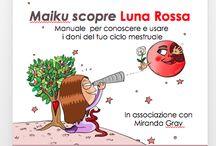 Maiku scopre Luna Rossa / In questa sezione troverai alcuni fumetti  dell'ultimo libro che ho scritto e disegnato Maiku scopre Luna Rossa in associazione con Miranda Gray