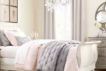 Pink, grey and beige colour schemes