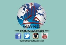 WE ARE HERE / We are here! A foundation that builds for the new generations to come. Like us on facebook: http://goo.gl/Tvf2Ep  #WAYNGFOUNDATION