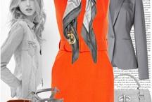 Solid Orange Work Attire / by Clemson Girl