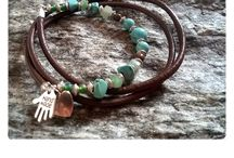 My own jewelery: imAGIne by Szászvári / bracelet, necklaces, keyrings Saját készítésű ékszereim (karkötők, nyakláncok, fülbevalók, kulcstartók)