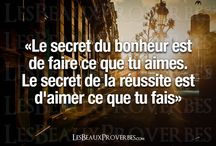 Proverbes/Citations