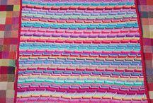 Tæpper og sjaler, blankets & shawls