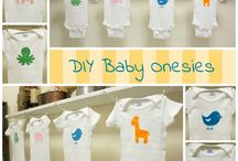 Printed Babygrows