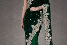 Saree / Other traditional dress that I love is Indian's traditional dress saree. It's elegant!