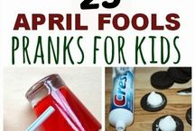 April Fools for kids / April fools fun, food and tricks for the kids