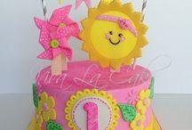 Amalia bday cake