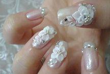 Poly Clay Nail Designs