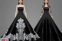 The Sims 4 dresses