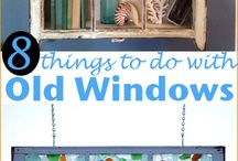 Uses for old windows / Uses for old windows