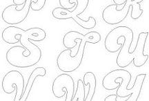 letras Patchwork