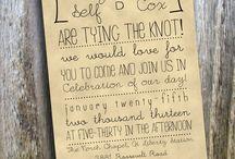 Wedding Wording LOVE!