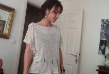 Nazan kırkaya / Textiles, hand made sweaters