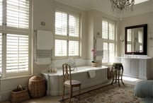 Tier on Tier Shutters / Tier on Tier Wooden Shutters offer style, versatility and practicality in abundance. Tier on Tier Window Shutters offer the same practicalities as Café Style window shutters, but with a second tier of shutters situated on the top half of the frame.