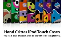 iPod Cases / Protect and personalize your iPod with a stylish and colorful case featuring your favorite animal or fantasy creature. See the whole collection at www.handcritters.com / by Hand Critters