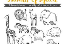 Africa drawing